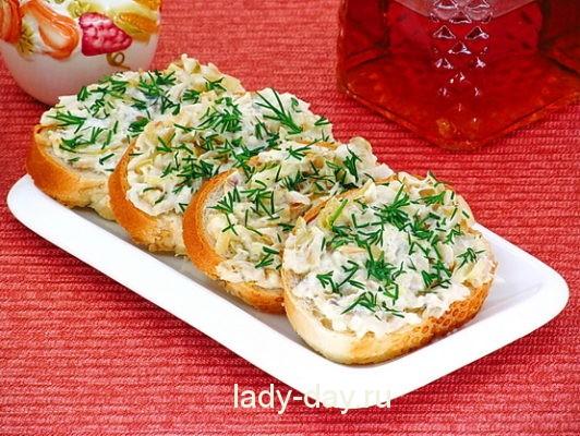 бутерброды вкусные и простые