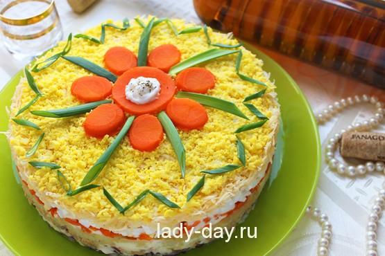 вкусные салаты с горбушей рецепты с фото