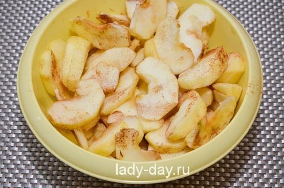 дольки яблочные