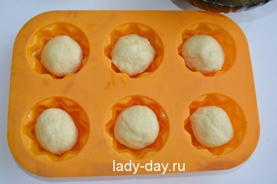 Маленькие куличи пасхальные, рецепт, Простые рецепты с фото