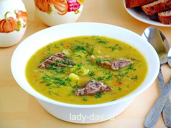 гороховый суп простой рецепт приготовления