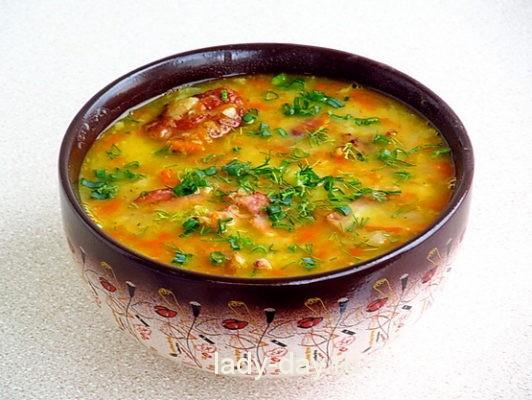 суп гороховый рецепт с фото