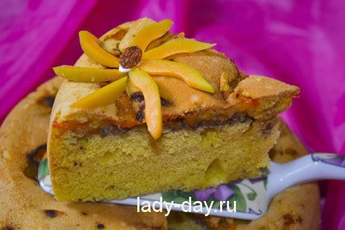 Пирог с абрикосами рецепт с фото в духовке