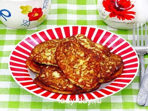 Оладьи из кабачков рецепт с фото