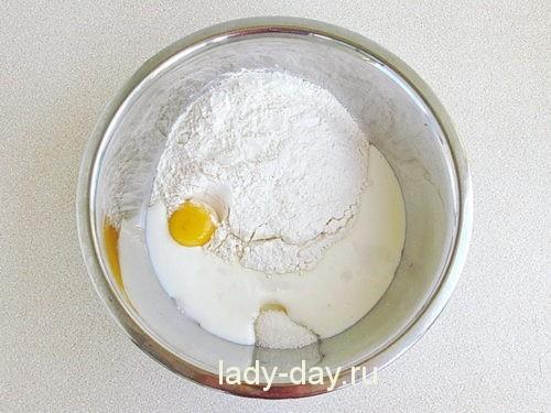 Оладьи из сметаны рецепт