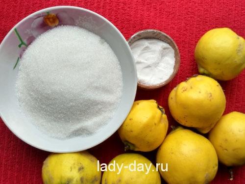 айва и сахар