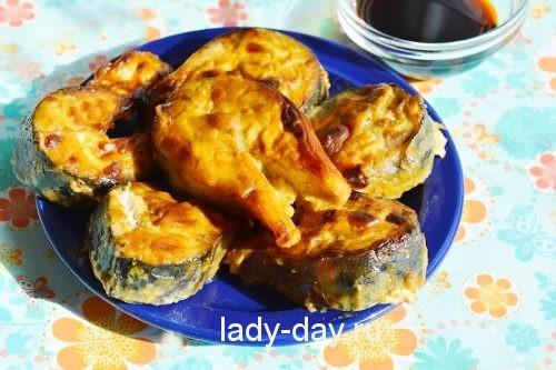 скумбрия запеченная в духовке в фольге рецепт с фото