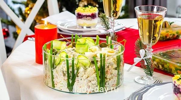 вкусные салаты для праздничного стола с фото