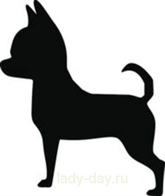 Вытынанки собаки