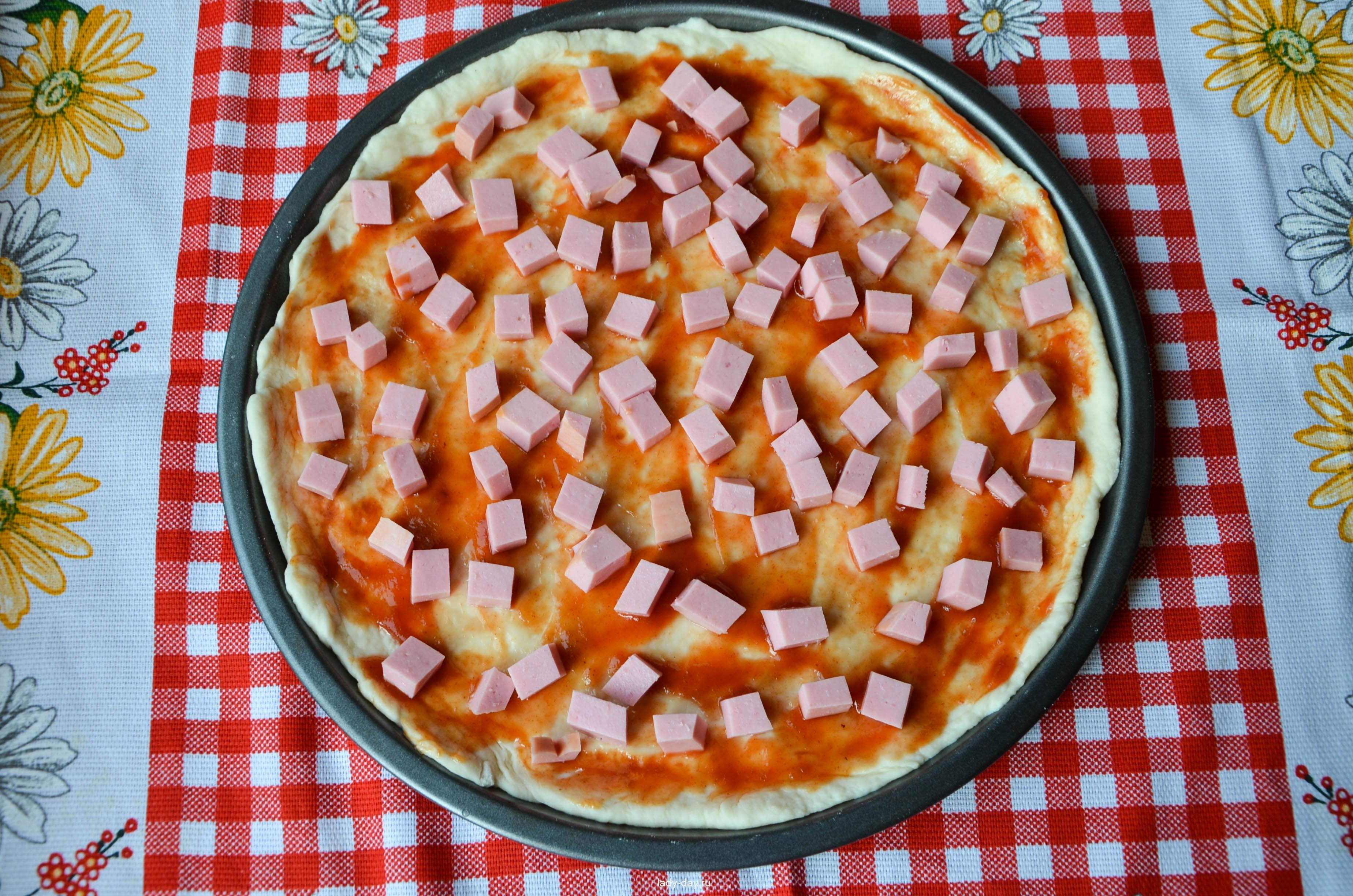 Начинки для пиццы в домашних условиях в духовке с колбасой