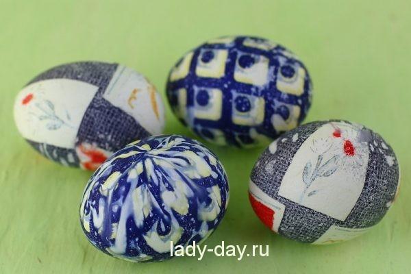 яйца на пасху в домашних условиях