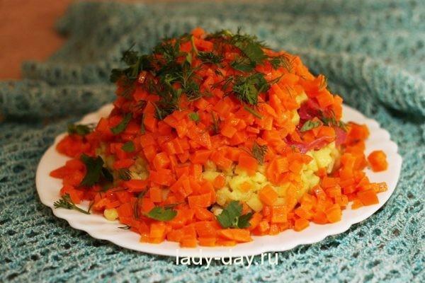Винегрет: рецепт классический с квашеной капустой