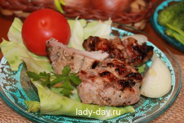Маринад для шашлыка из свинины без уксуса