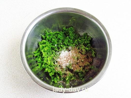 кориандр, соль