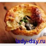 lady-day.ru-Пирог с курицей в горшочке