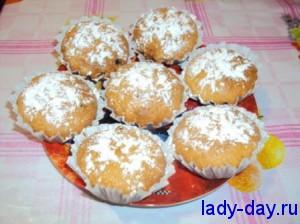 lady-day.ru-Кексы с изюмом
