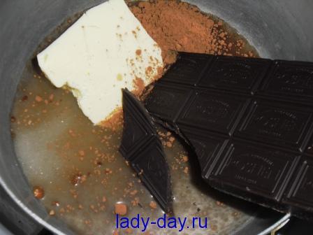 помадка из шоколада