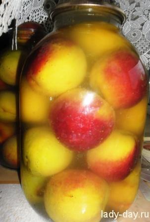 Консервируем персики