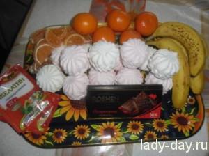 lady-day-Зефирный торт Сладкоежка