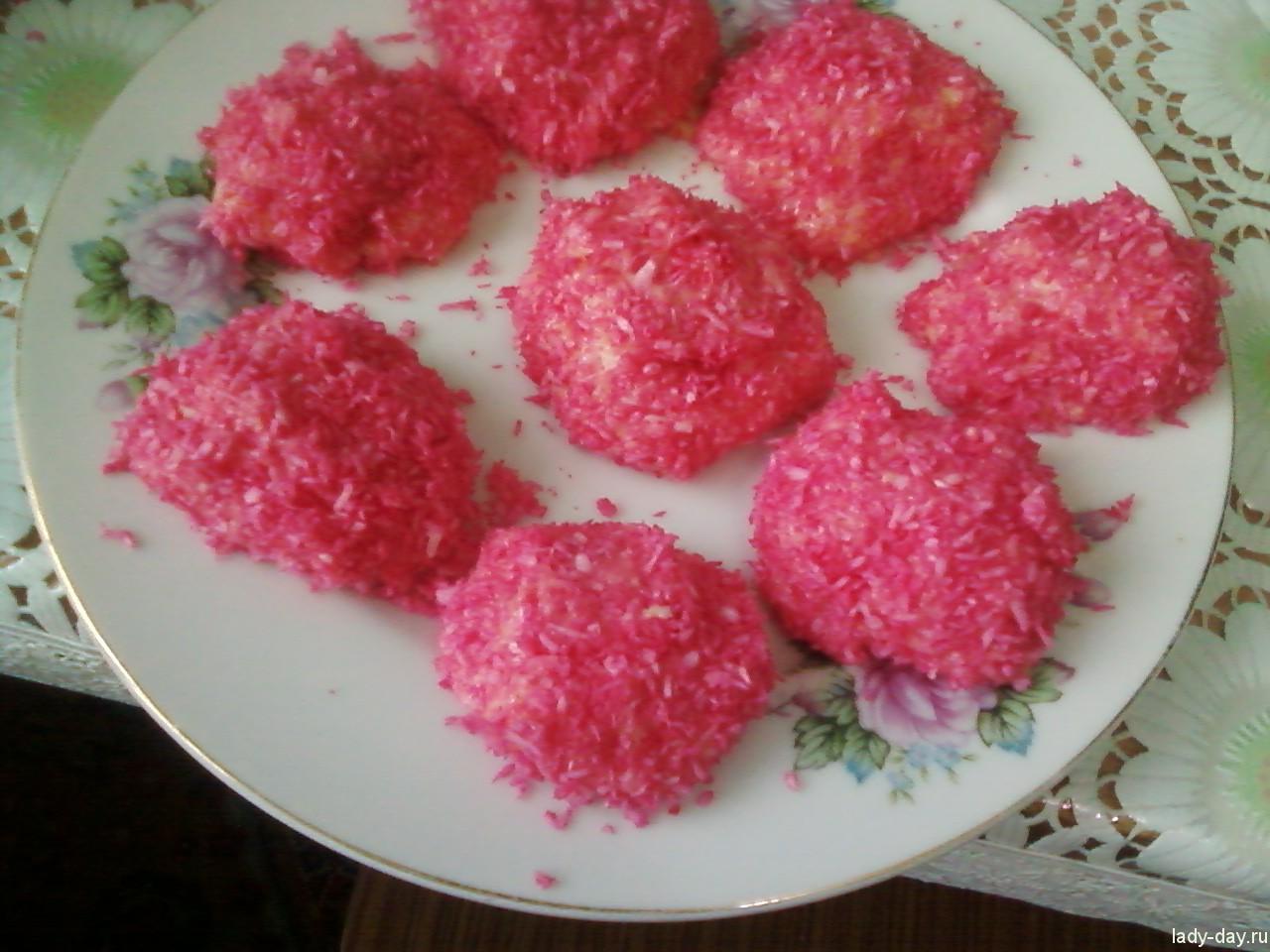 """lady-day-Приготовление конфет """"Рафаэлло"""""""