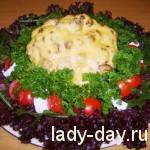 """lady-day-Новогодняя закуска """"Рождественский венок"""""""