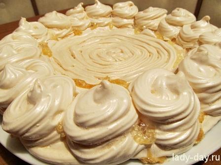 Торт-безе корж