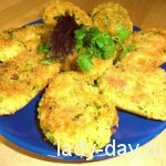 lady-day-Постные котлеты с гороха и риса
