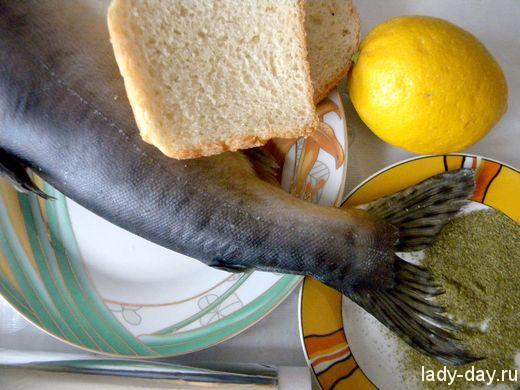 Запеченная горбуша в хлебных крошках