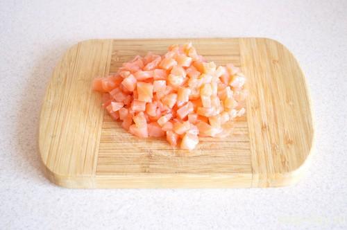 Салат «Семга под лососевой шубой»