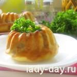 Фото рецепт маффинов с зеленым горошком