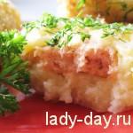 Рецепт картофельных котлет с лососем
