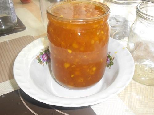 рецепт абрикосового варенья с апельсином