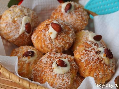 Кокосовое печенье, рецепт