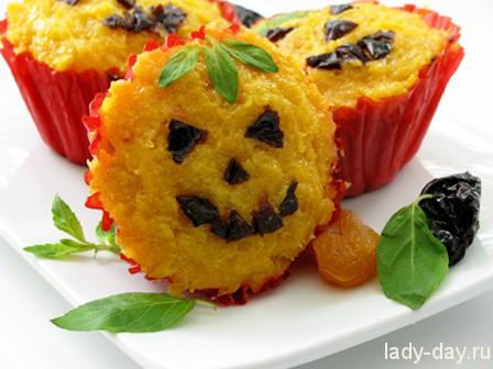 Вкусные кексы на Хэллоуин