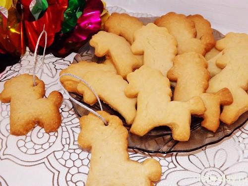 Рождественское печенье Лошадки