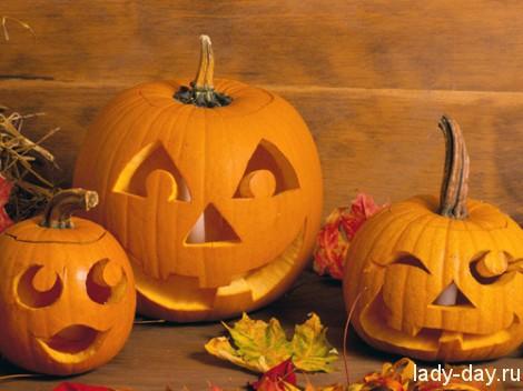 тыква хеллоуин