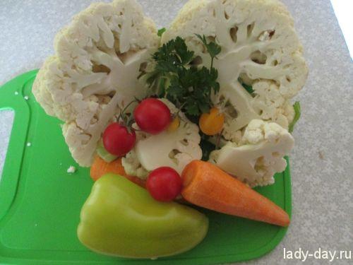 Консервированные овощи с кукурузой