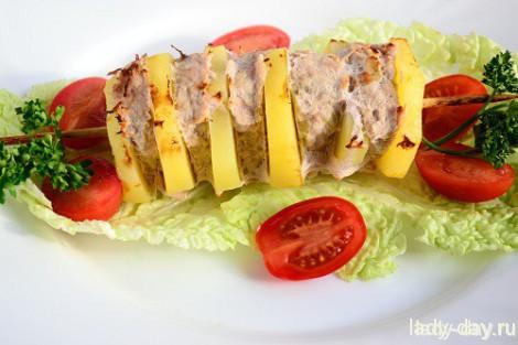 Кебаб с картошкой