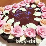 Торт-сердце