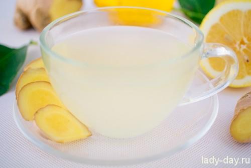 Имбирный чай для похудения: рецепт