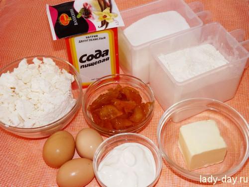 Печенье с творогом, рецепт с фото