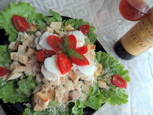 Салат с куриным мясом