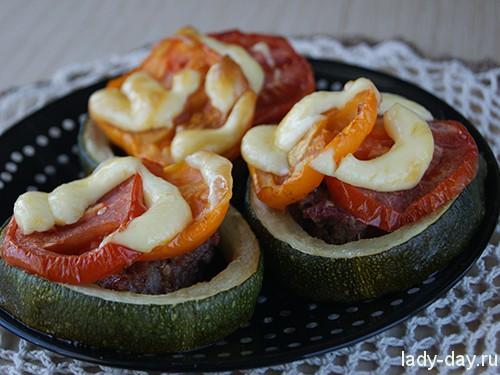 Рецепт фаршированных кабачков