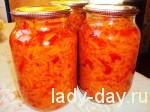 Заготовка перец-морковь