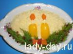 Салат свечи