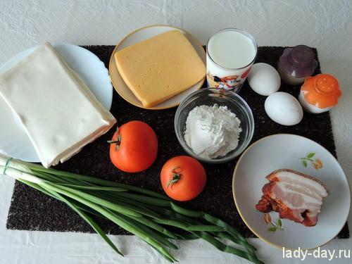 Киш с семенами – кулинарный рецепт