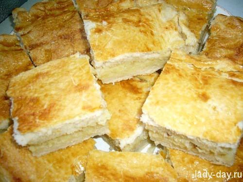 пирог с картошкой