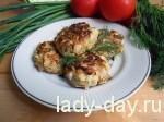 Котлеты из капусты и куриного филе