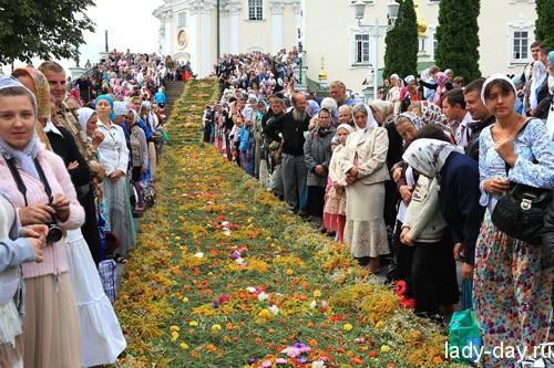 Праздник Успения Пресвятой Богородицы 2015