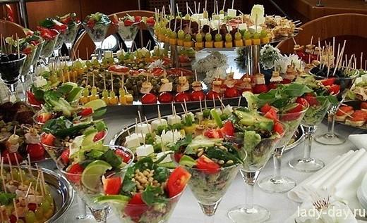 Рецепты для фуршетного стола на день рождения фото
